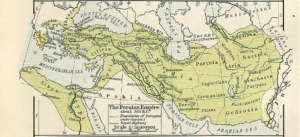 Ancient Persian Empire 500 BC